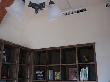 天井・壁 漆喰仕上げ
